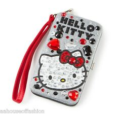 Hello Kitty Sanrio Bling Smartphone Tech Case Wristlet Hardcase for iPhone