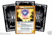 BATTLE SPIRITS: 20 CARTE IN ITA SERIE 1 - LOTTO LIBRO DEGLI INCANTESIMI APERTO