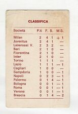 figurina - SAGITTARIO CALCIO 1969-70 N. 2 1A GIORNATA CLASSIFICA