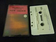 NEW ORDER BIZZARE LOVE TRIANGLE ULTRA RARE NEW ZEALAND CASSETTE TAPE!