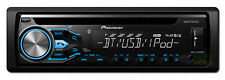 PIONEER DEH-X4850BT SINGLE DIN CAR CD RADIO RECIEVER AUX & USB BLUETOOTH TUNER