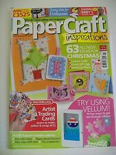 Magazine. The Card Maker's favourite! Paper Craft Inspirations. Issue 40. Nov'07