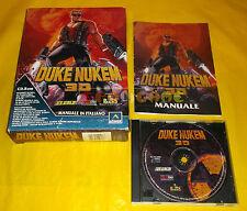 DUKE NUKEM 3D Pc Versione Ufficiale Italiana 1ª Edizione Big Box ○○○○○ COMPLETO