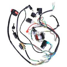 50cc 70cc 110cc 125cc ATV QUAD FULL ELECTRICS CDI COIL WIRING HARNESS RECTIFIER