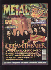 METAL SHOCK 250/1997 DREAM THEATER IN FLAMES STYX JAG PANZER EVENFALL TUFF