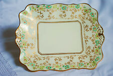 Royal Albert  Bread  Cake Plate English Vintage China Art Deco Teaset High Tea