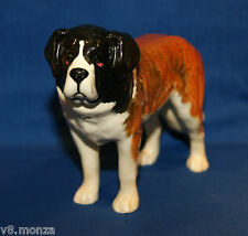 "BESWICK SAINT BERNARD FIGURINE ~ ""CORNA GARTH STROLLER"" STAMPED ON ONE FOOT"
