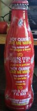 COCA COLA   Limited  empty grapped Bottle serie music form Argentina