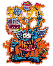 Rat Fink In The Weeds  Sticker/Decal