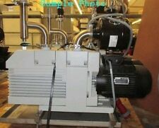 TRIVAC OERLIKON LEYBOLD VACUUM PUMP D65B  IN EXC COND Maintained
