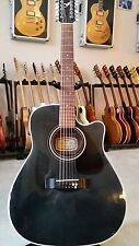 Yamaha 12 string electric acoustic guitar model FGX-412C-12 BL