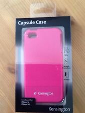 New Kensington for Apple iPhone 4/4S Protective Capsule Case Cover Glossy PINK