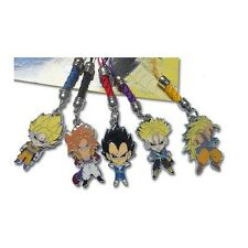 Set 5 Strap / Phonestrap Dragon Ball Z