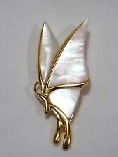 High Quality Mother of Pearl Butterfly Brooch Pin ~Comes in Gift Box~