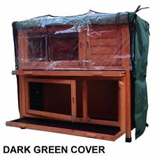 RHL Double Tier Rain Cover For Rabbit Hutch Run Covers Pet Hutches Ferret Cages