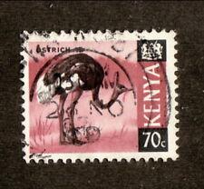 Kenya--#28 Used--Ostrich--1969
