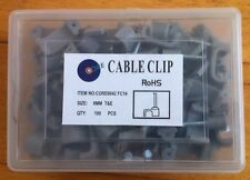 1000 x CABLE CLIPS FOR 6 mm TWIN & EARTH 6242Y T&E 10 x 100 BRAND NEW