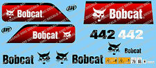 BOBCAT 442 MINI PELLE DECAL SET