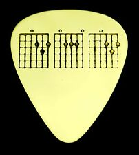 D-A-D CHORDS, DAD - Solid Brass Guitar Pick, Acoustic, Electric, Bass