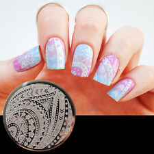 Flèches bande image Nail Art Stamping Template Image plaque Pattern #Qgirl-029