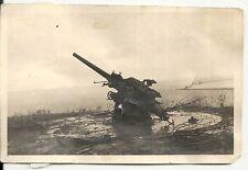 Orig.Foto Polnisches Geschütz in Oxhöft,Gdingen Gdynia in Polen 1939 WW2