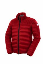 NWT CANADA GOOSE MEN'S BROOKVALE #5500M (COLOR: RED/BLACK SIZE: SMALL)