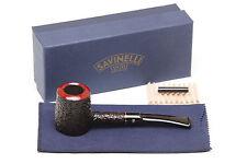 Savinelli Roma 310 KS Black Stem Tobacco Pipe