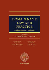 Domain Name Law and Practice: An International Handbook by Willoughby, Tony, Ab