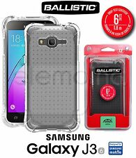 BALLISTIC Jewel Bumper Case Cover For SAMSUNG GALAXY J3 J3V Express Prime CLEAR