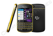 BlackBerry Q10 - 24ct. 24k GOLD / BLACK - Special Edition - GSM FACTORY UNLOCKED