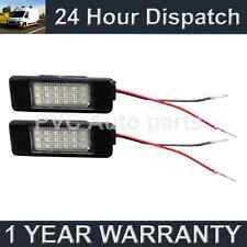 2X CITROEN BERLINGO JUMPY 18 BIANCO LUCE TARGA A LED FARI