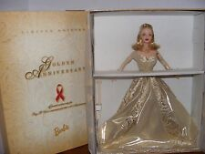 GOLDEN ANNIVERSARY BARBIE 1998 TOYS R'US EXCLUSIVE NRFB - 1998
