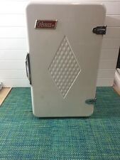 "Vintage Coleman Diamond Convertable Camping Cooler Box Upright 22"" X 13"""