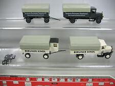 AF392-0,5# 2x Roskopf/RMM H0 LKW Mercedes-Benz MB: Berliner Kindl+Reichsbahn