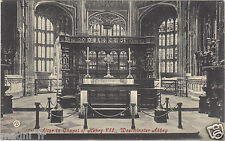 Royaume Uni - WESTMINSTER abbey - Altar in chapel of Henry VII