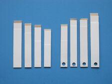 100  Akkordeon-Ventile    V I L E D A   50mm x 8mm u. 57x8mm  4mm Lochung