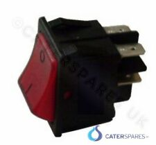 NE14 LINCAT RED NEON ROCKER SWITCH POWER ON / OFF CHIP SCUTTLE GRIDDLE OVENS