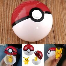 3D Lovely Baby Toy Pokemon Flip Top Pokeball & Pikachu MicroBlock Build Cosplay