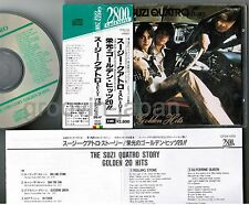 SUZI QUATRO Story-Golden Hits JAPAN CD 2,800 JPY w/Green Line OBI CP28-1030