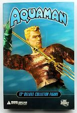 "AQUAMAN 13"" Deluxe Collector Action Figure DC Direct"