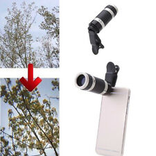 Universal 8x Zoom Optical Mobile Phone Telescope Telephoto Camera Len+Clip X1 AU