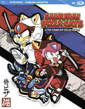 Samurai Pizza Cats: The Complete Collection (Blu-ray Disc, 2016)