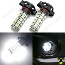 HID White 68-SMD 5202 5201 H16 LED Bulbs For Fog Lights or Daytime Running Light