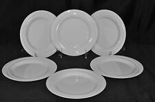 "ROSENTHAL Nendoo White Bread & Butter Plates 7"" Set/6  New"