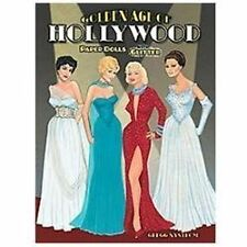 Golden Age of Hollywood Paper Dolls with Glitter! (Dover Paper Dolls) by Gregg N