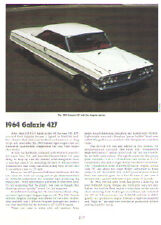1964 Ford Galaxie 427 Article - Must See !!