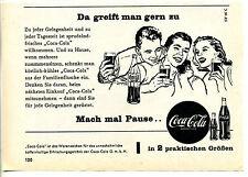 Coca Cola-Da greift man gern zu--2 Größen-- SF16C --Werbung von 1958-