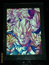 DRAGON BALL GT Z DBZ RARE JUMBO CARD PRISM CARTE OVERSIZED VOIR PHOTO **