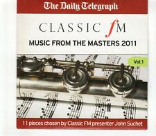 (GR525) Music From The Masters, 11 tracks - 2011 The Daily Telegraph CD
