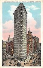B2066 United States New York Flatiron Building   front/back scan
